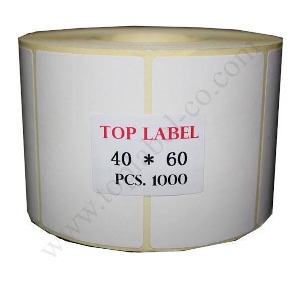 لیبل کاغذی 60*40