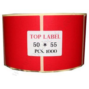 لیبل رنگی کاغذی 55*50
