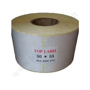 لیبل 55*50 کاغذی